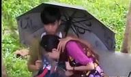 Boso sa Jowang walang pang-motel nagtakip na lang ng Payong pero di epektib